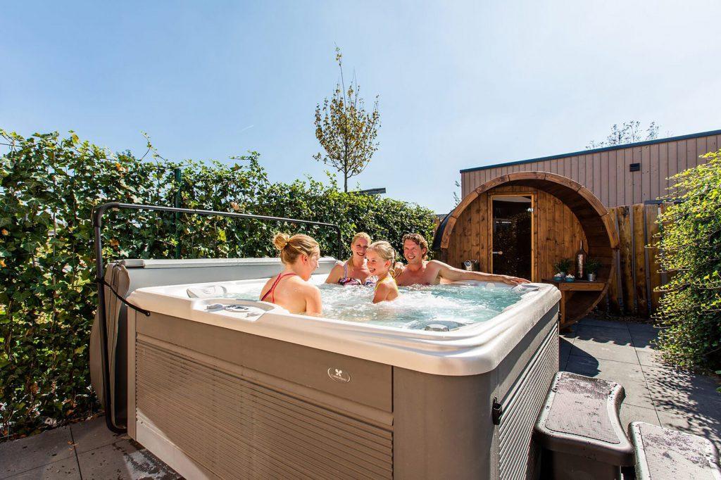 vakantiehuis met jacuzzi nederland
